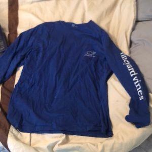 Vineyard Vines Shirts - Blue Vineyard Vines long sleeve